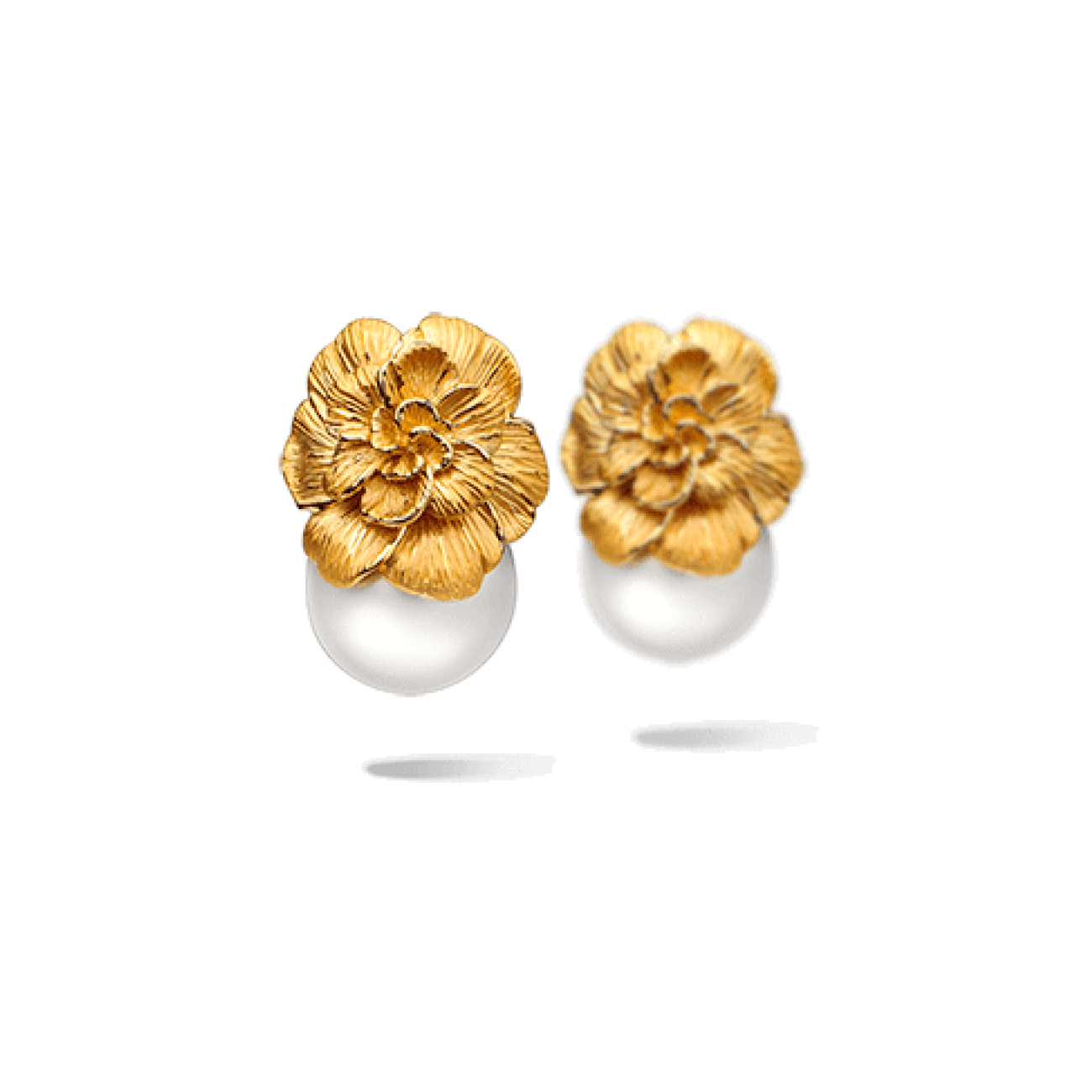 Carrera Y Carrera Jewelry - Gardenia Earrings | Manfredi Jewels
