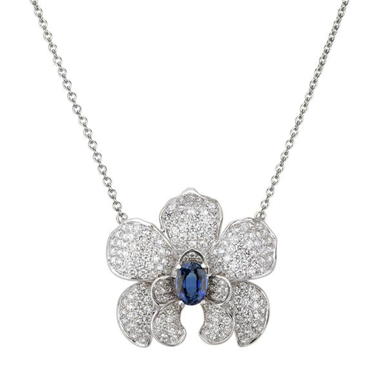 Carrera Y Carrera Jewelry - Orquideas Medium Necklace | Manfredi Jewels