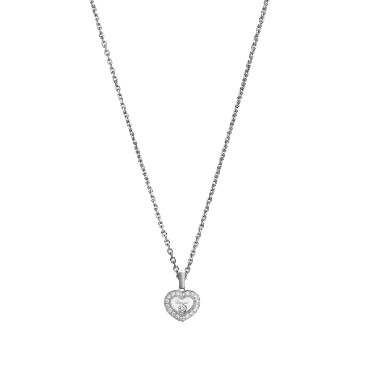 Chopard Jewelry - HAPPY DIAMONDS ICONS HEART PENDANT | Manfredi Jewels
