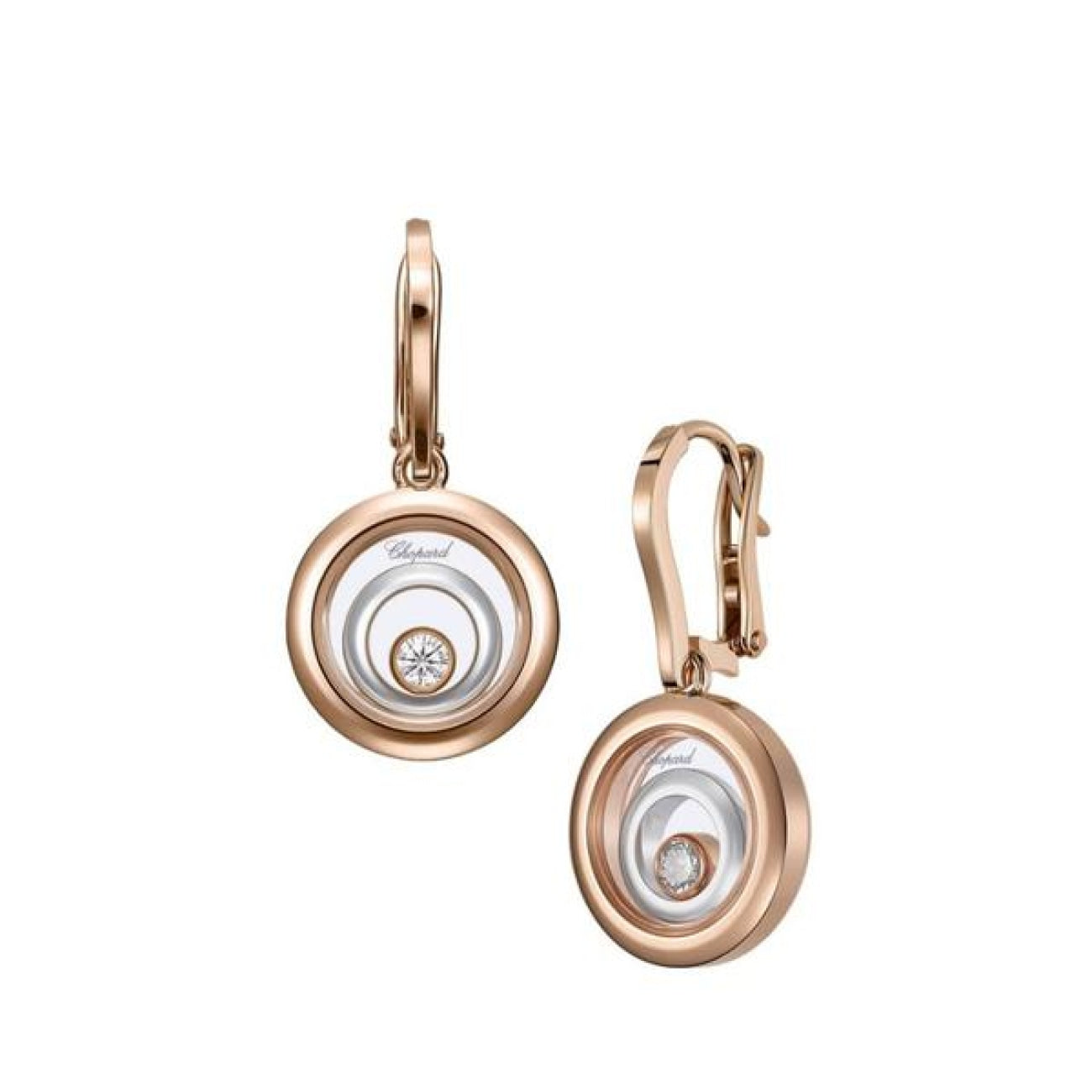 Chopard Jewelry - HAPPY SPIRIT EARRINGS 838230-9001 | Manfredi Jewels