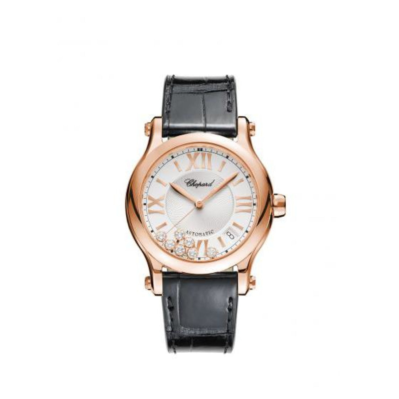 Chopard Watches - HAPPY SPORT 36 MM AUTOMATIC WATCH | Manfredi Jewels