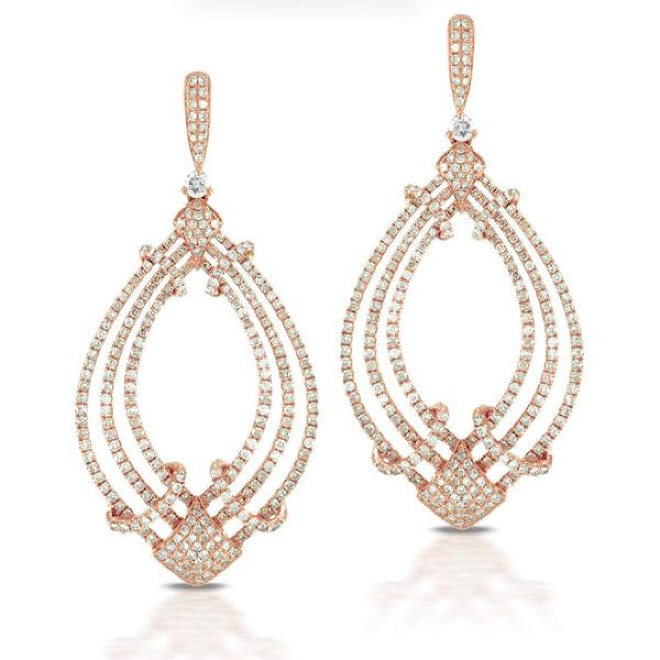 Doves Jewelry - Diamond Fashion Collection Earrings | Manfredi Jewels