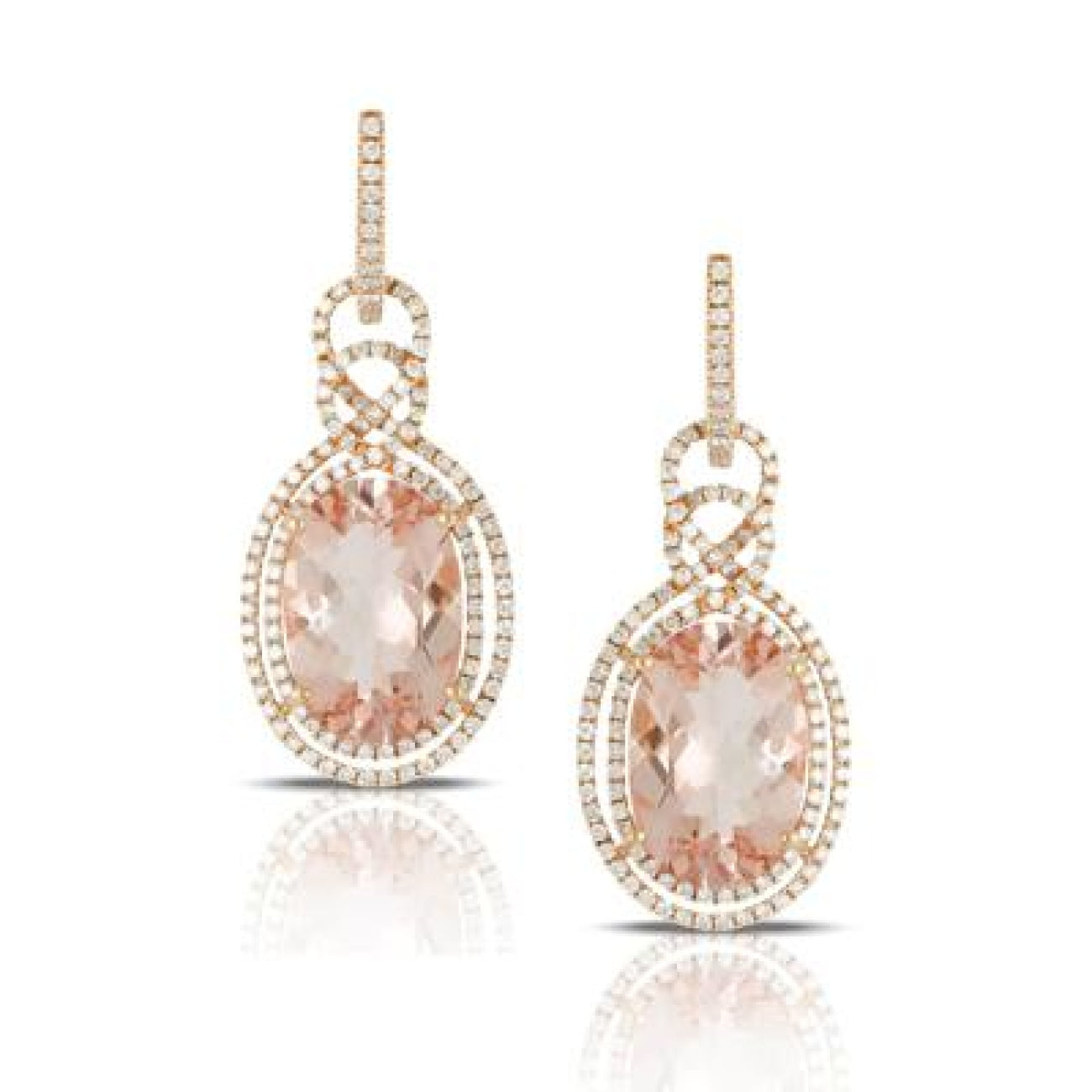 Doves Jewelry - E7901MG ROSÉ | Manfredi Jewels