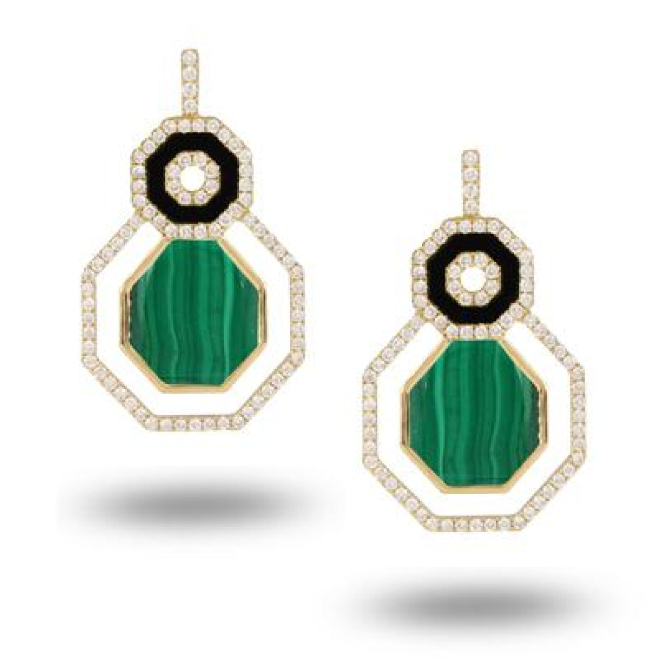 Doves Jewelry - E8237BOMC VERDE | Manfredi Jewels
