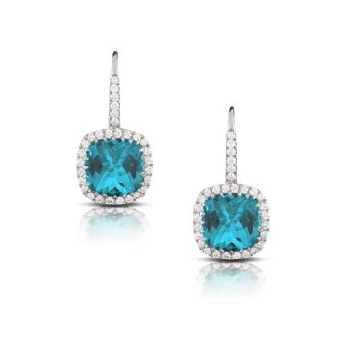 Doves Jewelry - E8525LBT LONDON BLUE | Manfredi Jewels