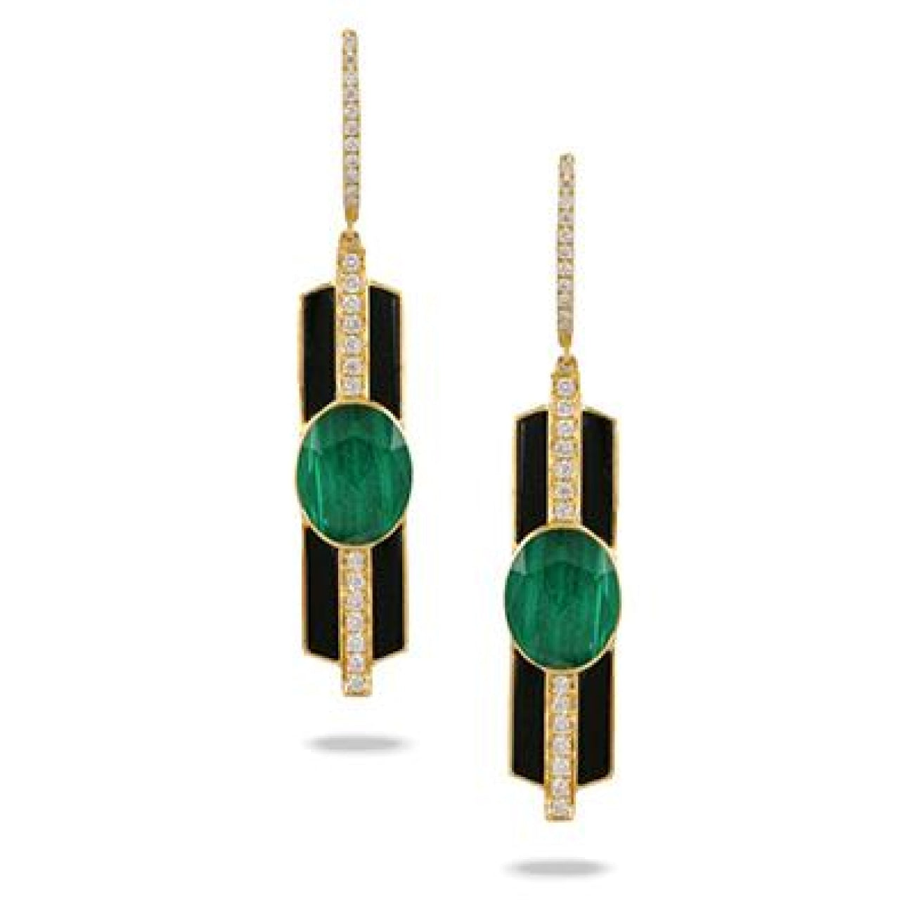 Doves Jewelry - E8743BOMC VERDE | Manfredi Jewels