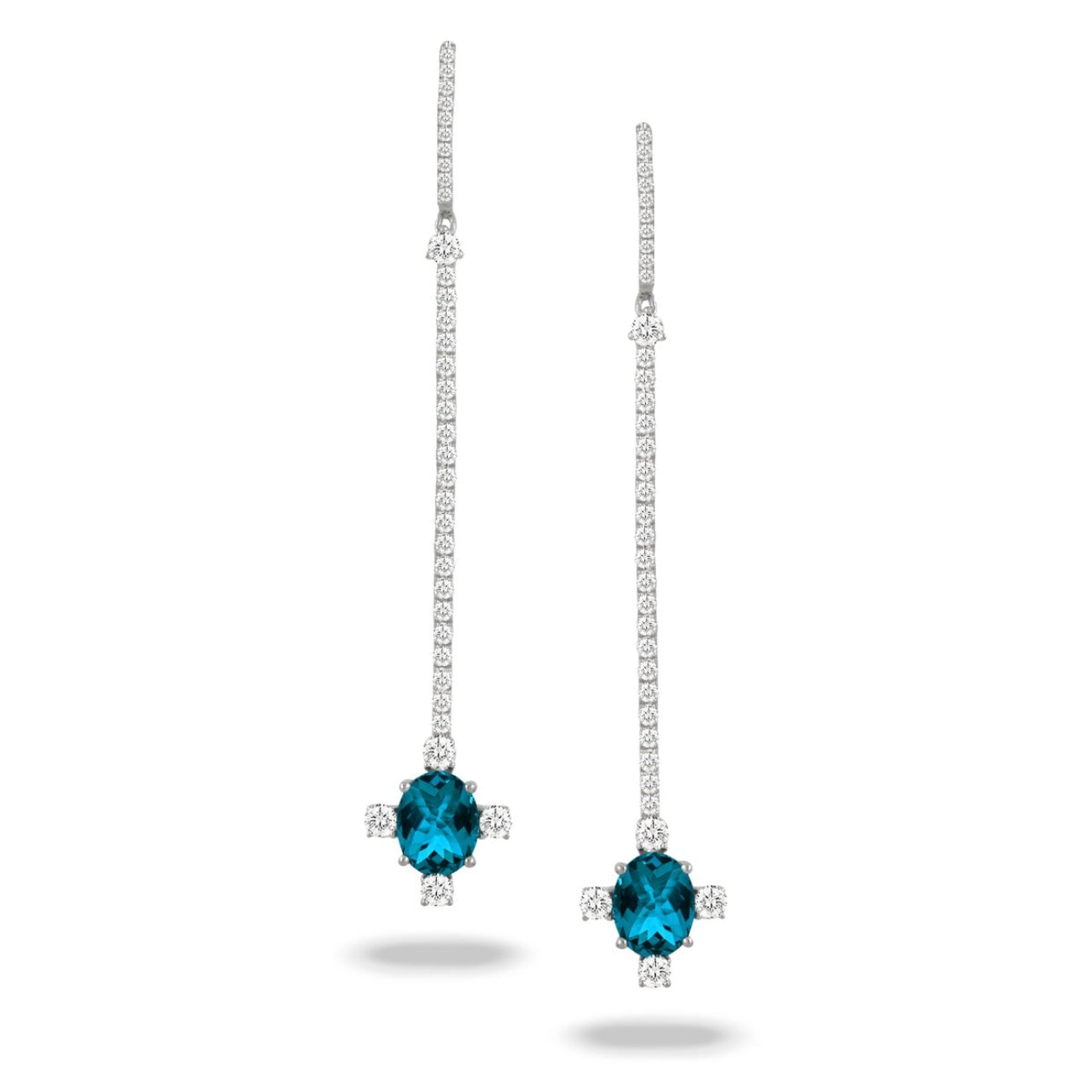 Doves Jewelry - E9083LBT LONDON BLUE | Manfredi Jewels