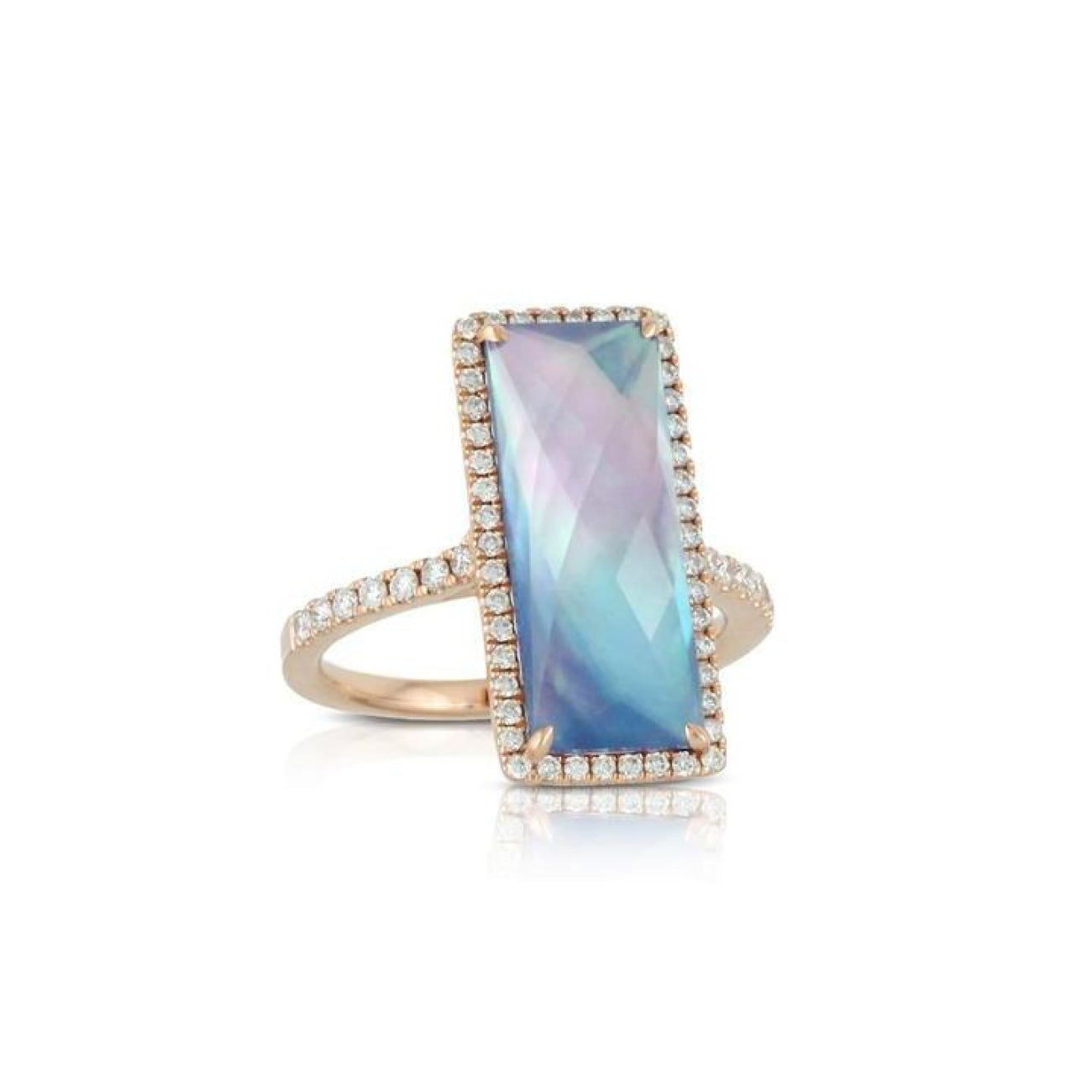 Doves Jewelry - Parisian Plum Colection Ring | Manfredi Jewels
