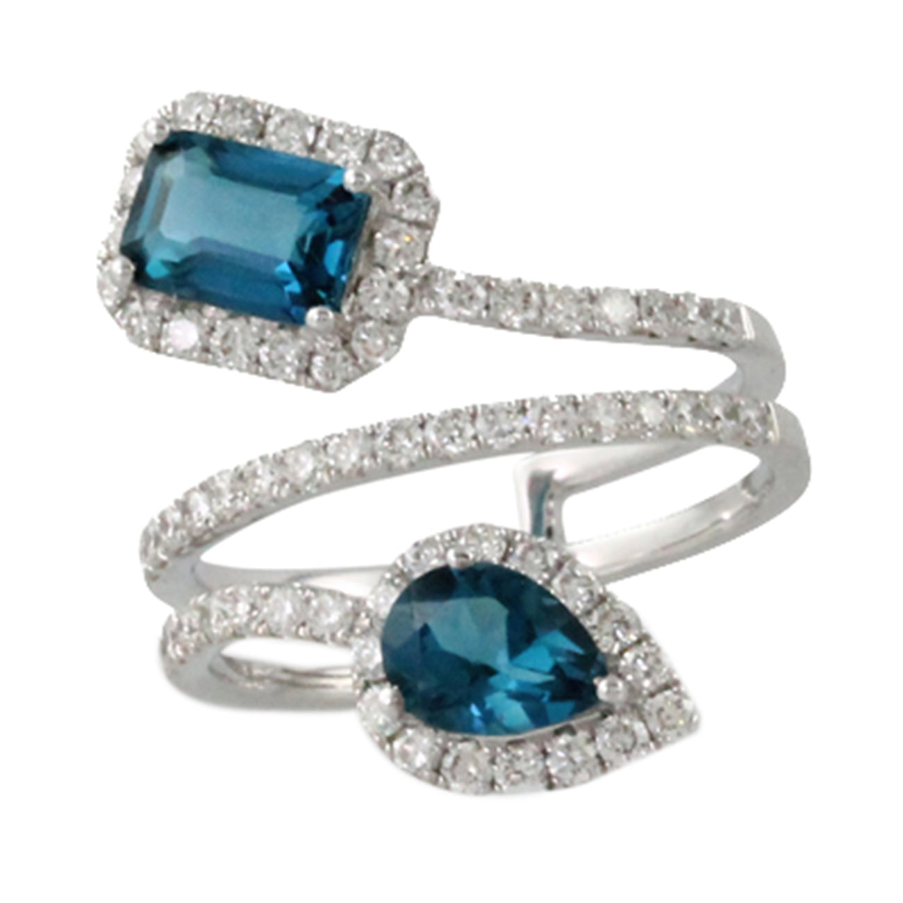 Doves Jewelry - R9180LBT LONDON BLUE | Manfredi Jewels