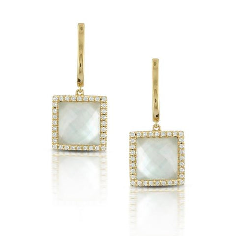 Doves Jewelry - White Orchid Collection Earrings | Manfredi Jewels