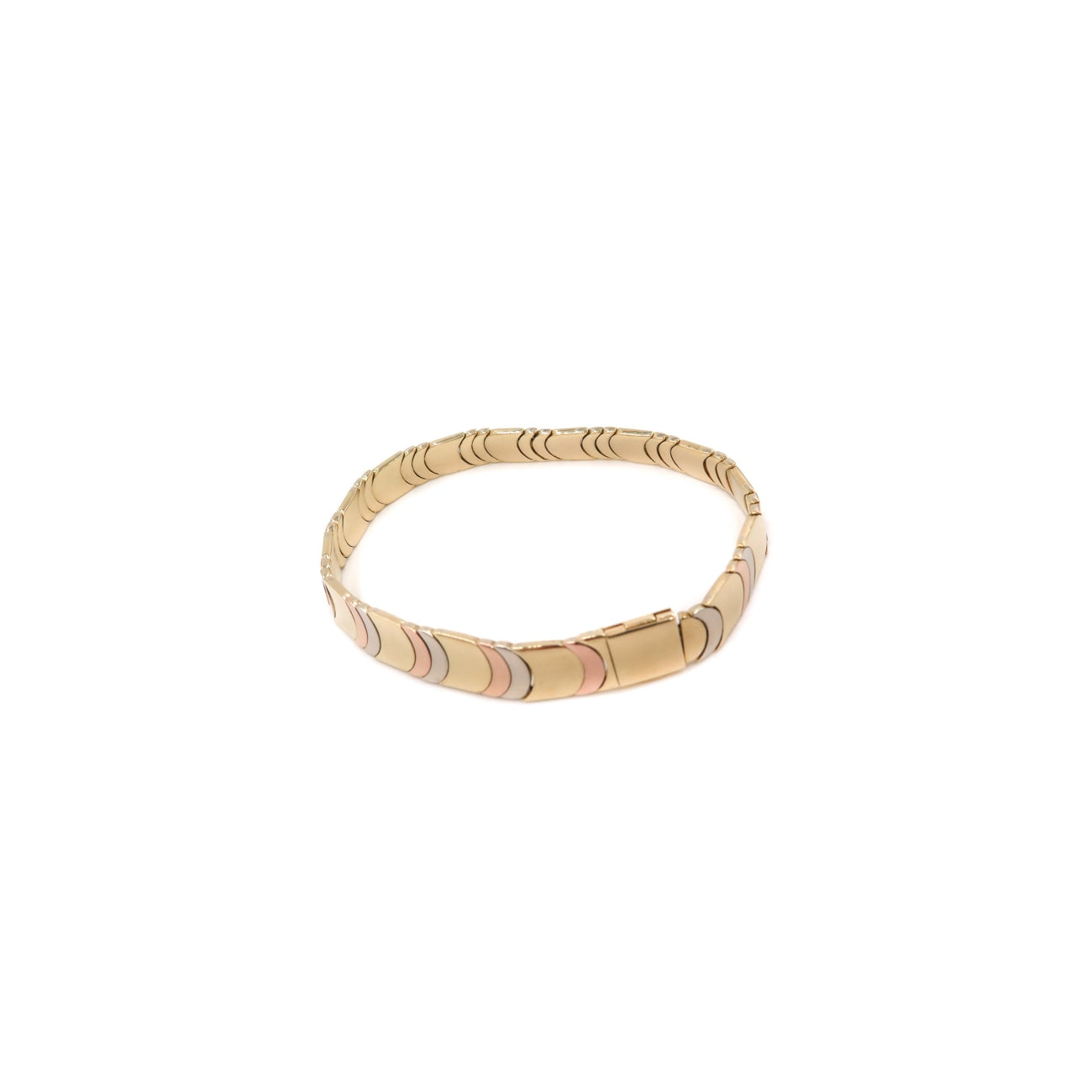 Estate Jewelry Estate Jewelry - Chimento Reversible Tricolor/Yellow Gold Bracelet | Manfredi Jewels
