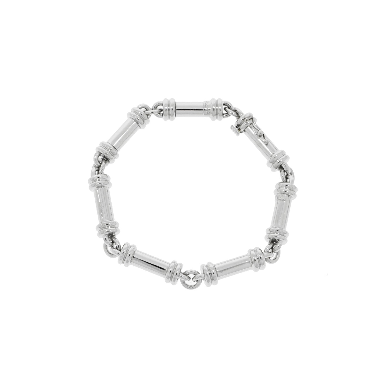 Estate Jewelry Estate Jewelry - Solid Platinum Bracelet | Manfredi Jewels