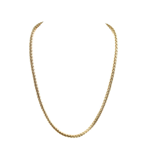 Estate Jewelry Estate Jewelry - Spiga Yellow Gold Chain Necklace | Manfredi Jewels