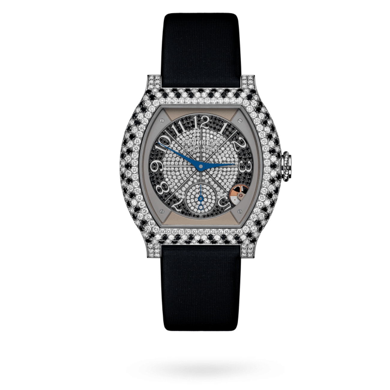 F. P. Journe Watches - Élégante 40Mm In Platinum With Diamonds And Precious Stones | Manfredi Jewels