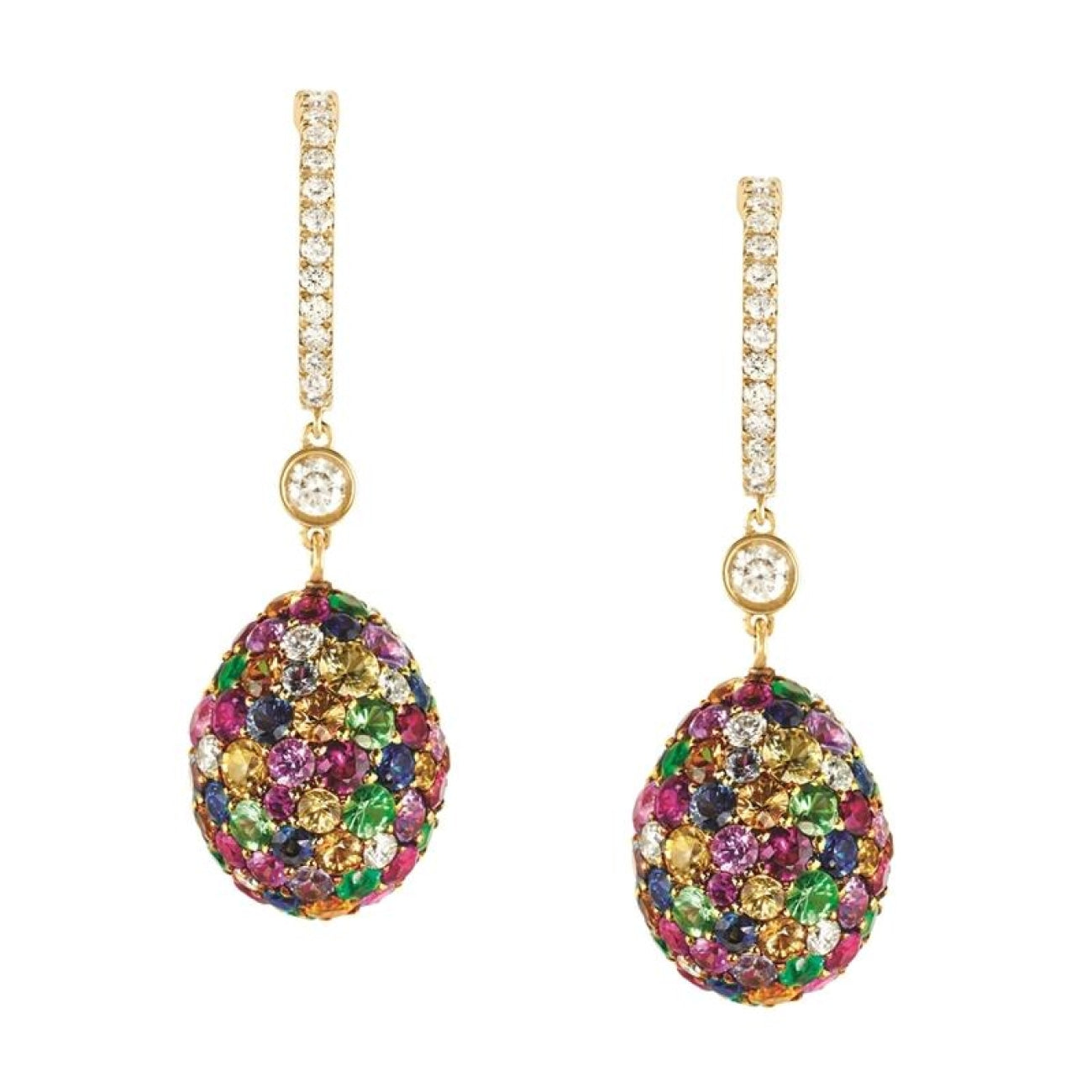Fabergé Jewelry - EMOTION MULTI-COLOURED EARRINGS | Manfredi Jewels