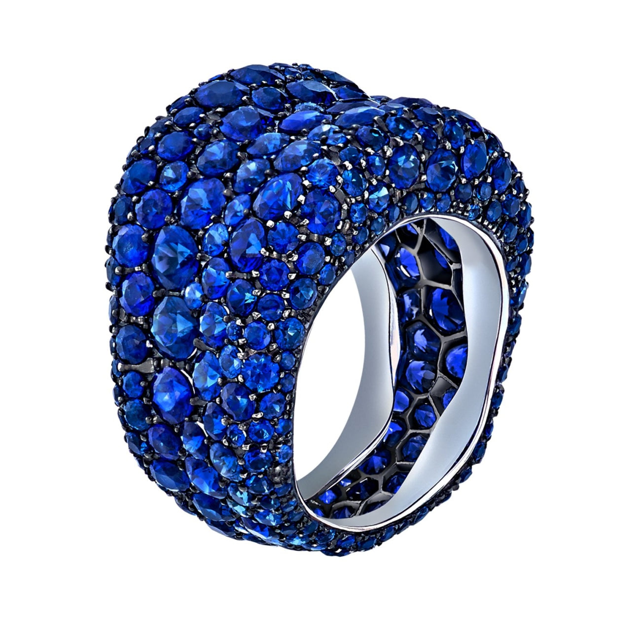 Fabergé Jewelry - Emotion Sapphire Ring | Manfredi Jewels