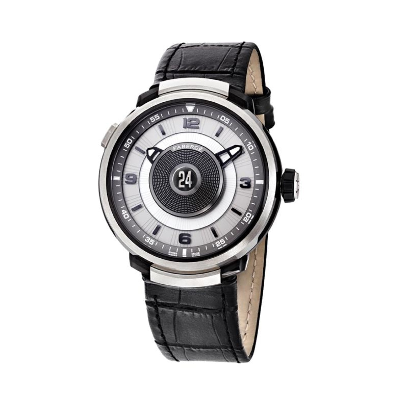 Fabergé Watches - VISIONNAIRE DTZ 18K WHITE GOLD & SAPPHIRE MENS WATCH | Manfredi Jewels