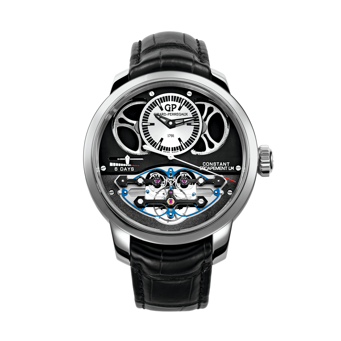 Girard-Perregaux Watches - CONSTANT ESCAPEMENT L.M. | Manfredi Jewels