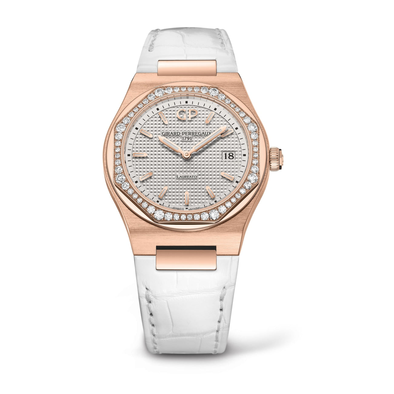 Girard-Perregaux Watches - LAUREATO 34 MM | Manfredi Jewels