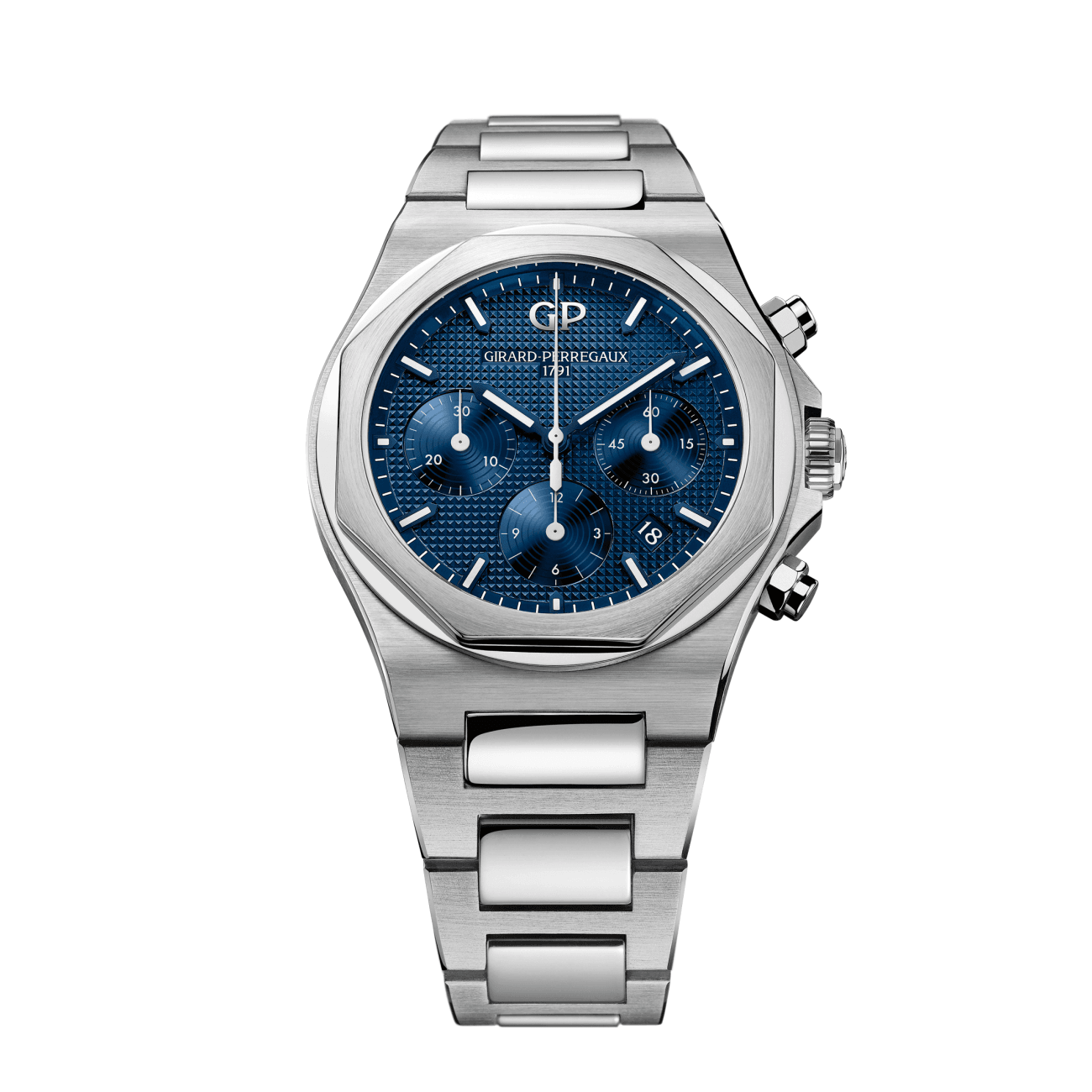 Girard Perregaux Watches - LAUREATO CHRONOGRAPH 42 MM | Manfredi Jewels