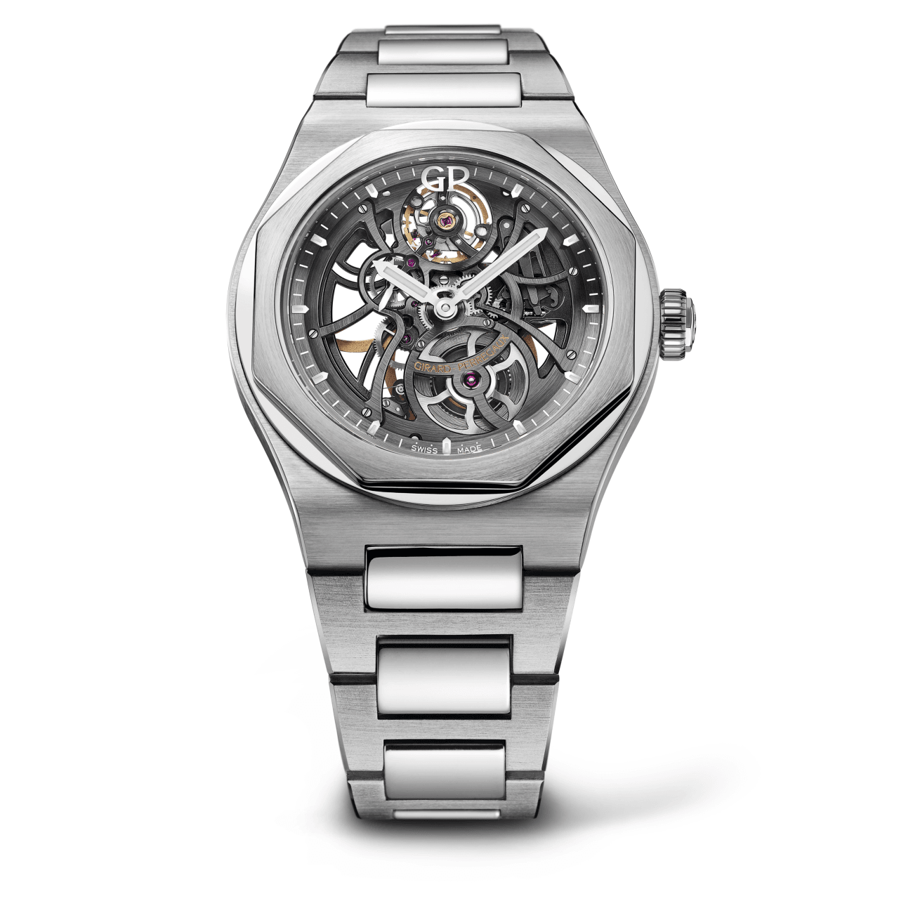 Girard-Perregaux Watches - LAUREATO SKELETON | Manfredi Jewels
