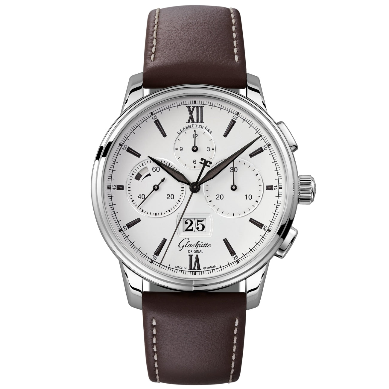 Glashütte Original Watches - Senator Chronograph Panorama Date | Manfredi Jewels