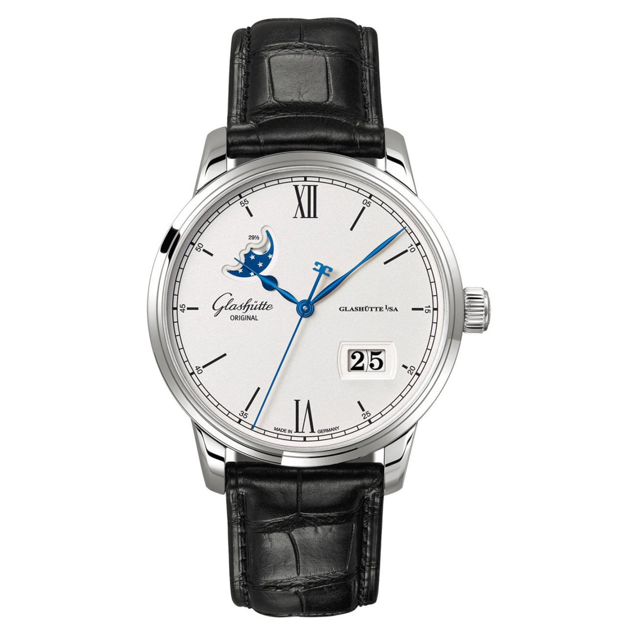 Glashütte Original Watches - Senator Excellence Panorama Date Moon Phase | Manfredi Jewels