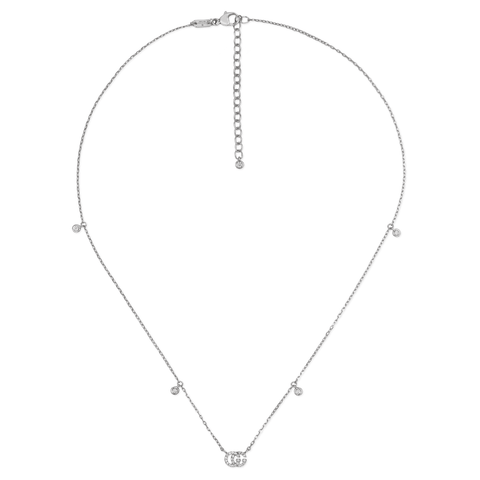 Gucci Jewelry - Running G 42 cm length necklace | Manfredi Jewels