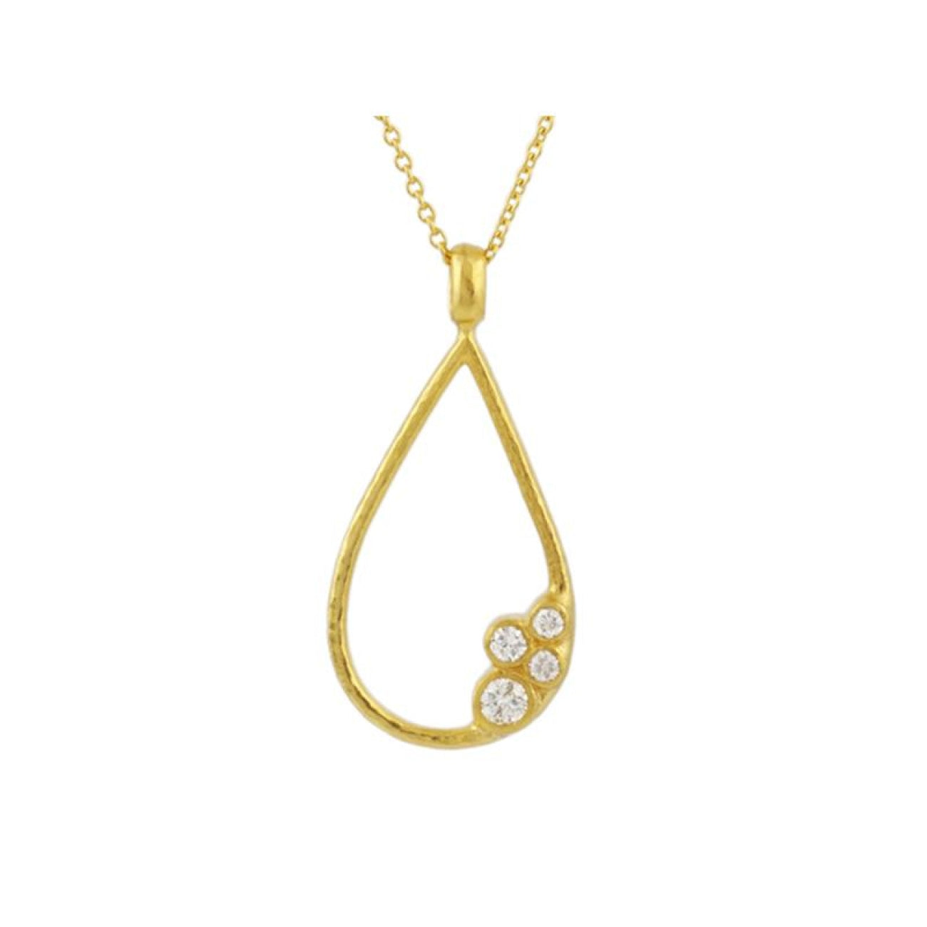 Gurhan Jewelry - Pointelle Diamond diamond pendant necklace | Manfredi Jewels