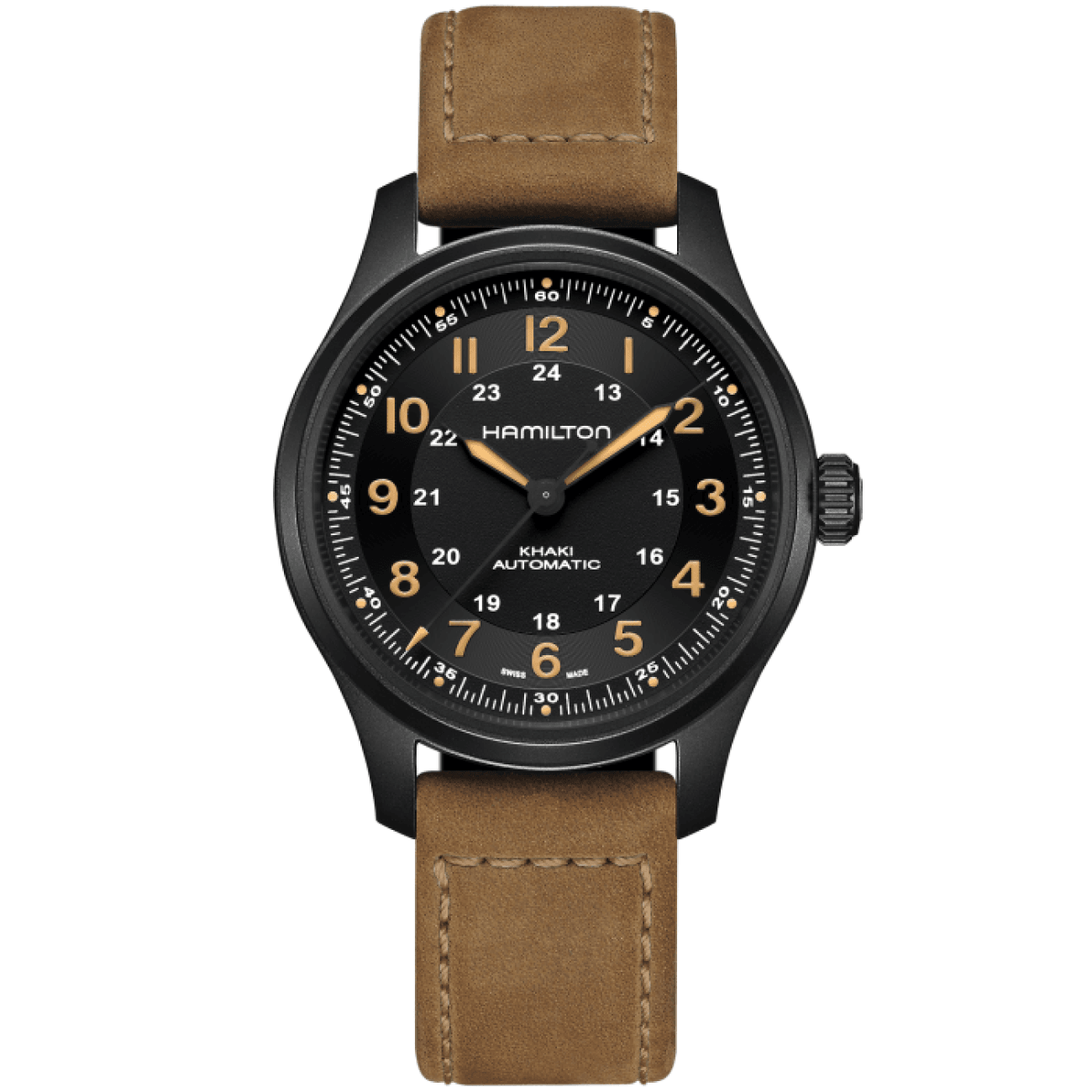 Hamilton Watches - Khaki Field Titanium Auto | Manfredi Jewels