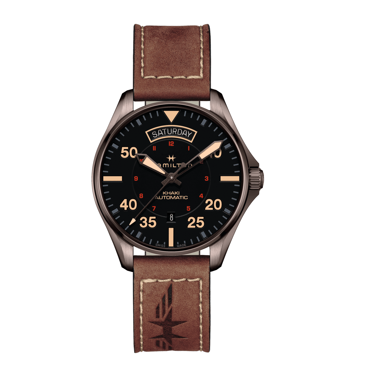 Hamilton Watches - KHAKI PILOT DAY DATE AUTO | Manfredi Jewels