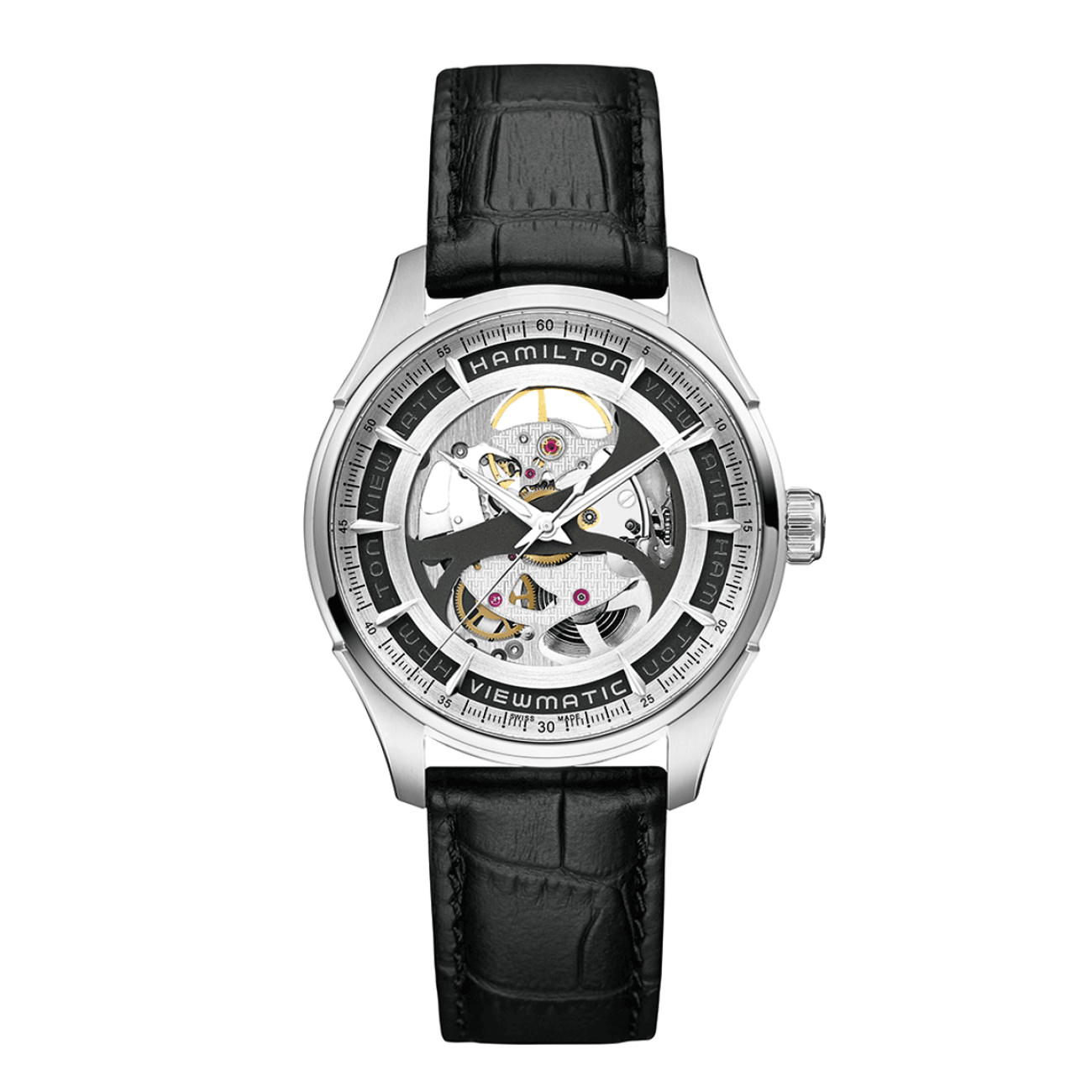 Hamilton Watches - VIEWMATIC SKELETON GENT AUTO | Manfredi Jewels