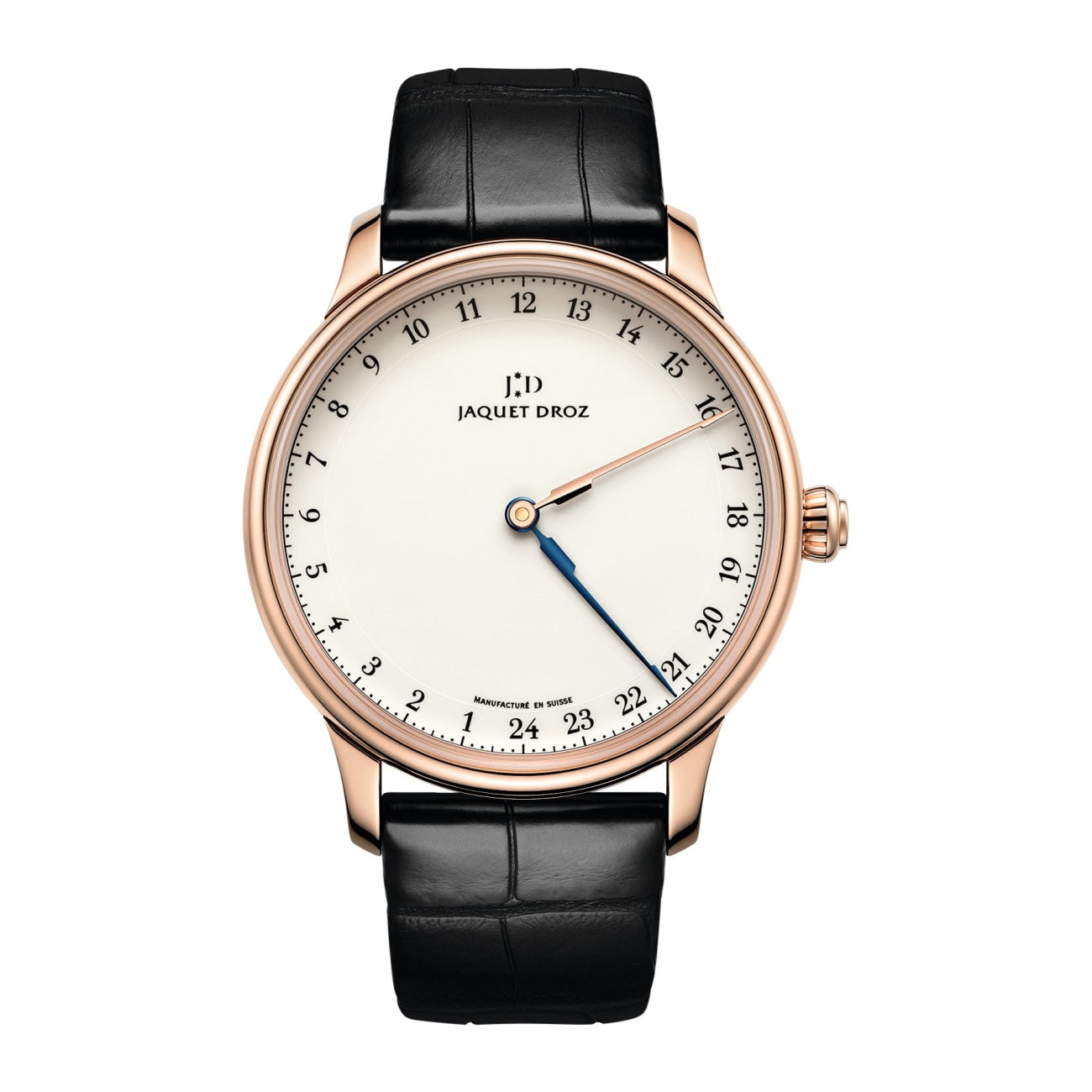 Jaquet Droz Watches - GRANDE HEURE GMT | Manfredi Jewels