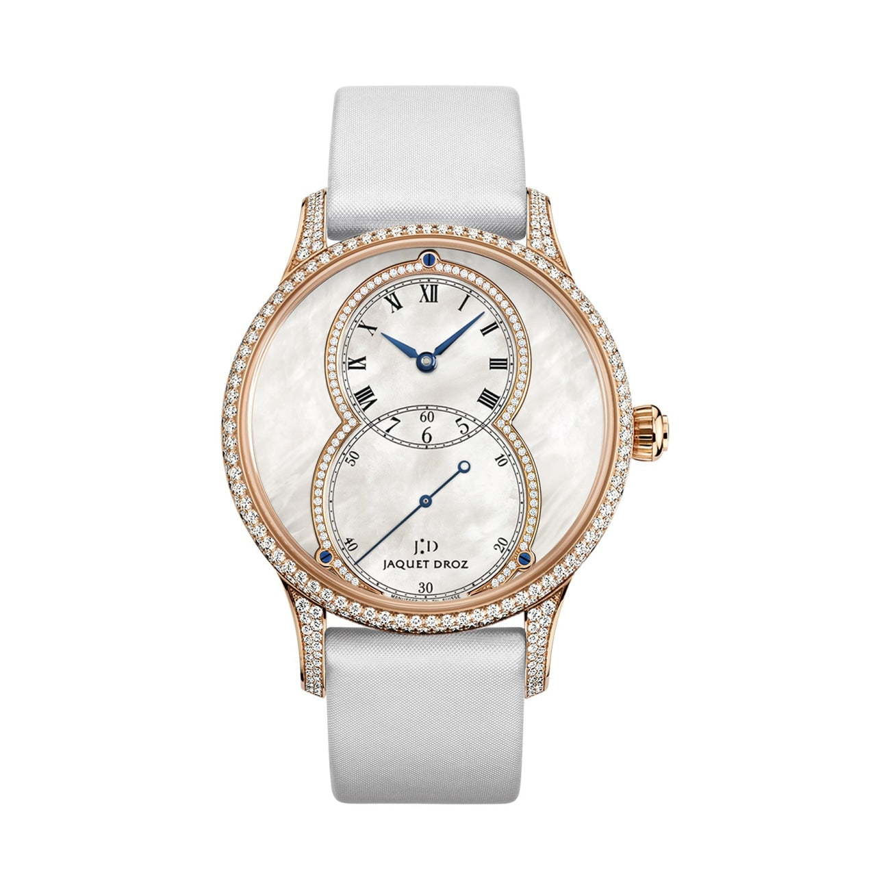 Jaquet Droz Watches - GRANDE SECONDE MOTHER-OF-PEARL | Manfredi Jewels