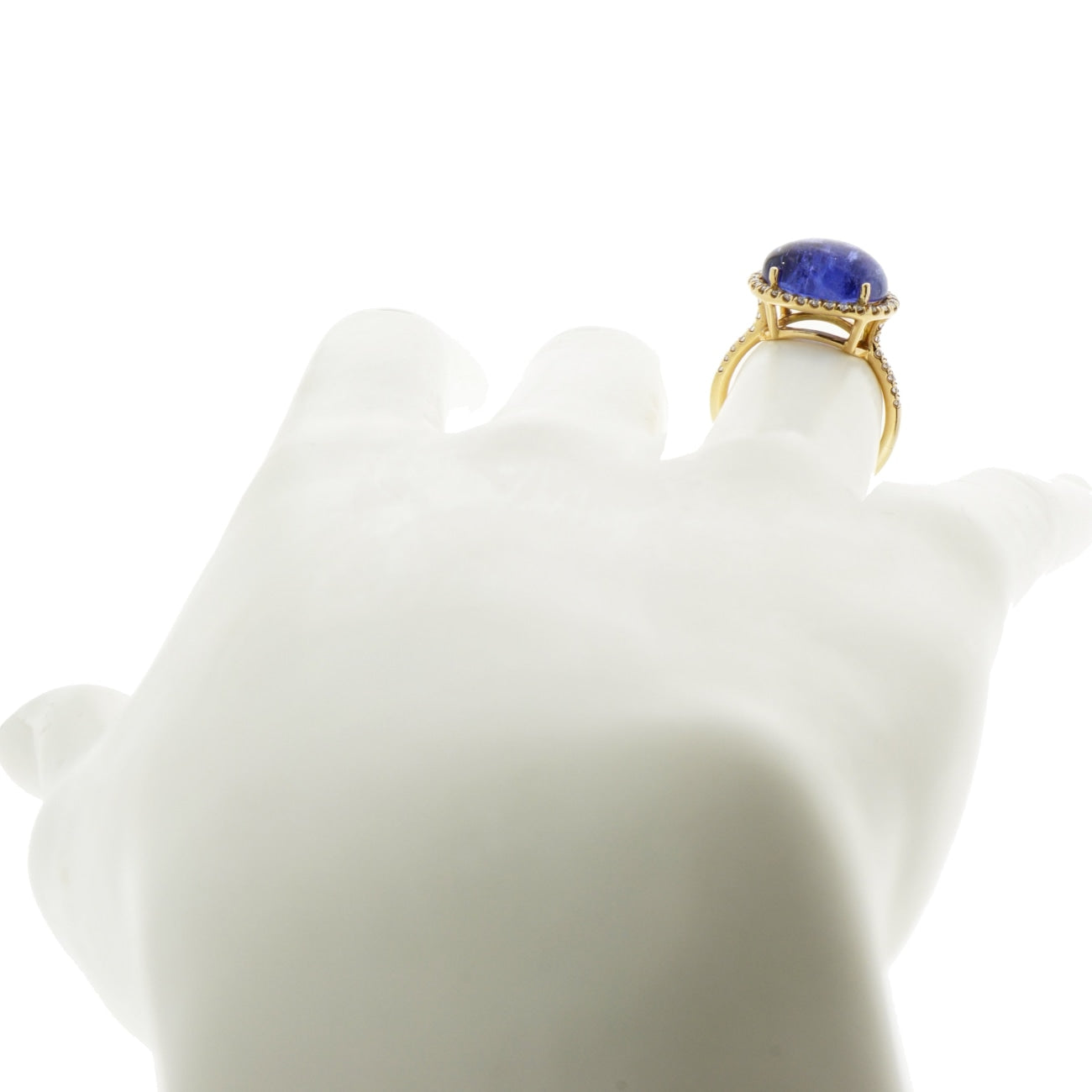 Lauren K Jewelry - Tanzanite & Diamond Rose Gold Ring | Manfredi Jewels