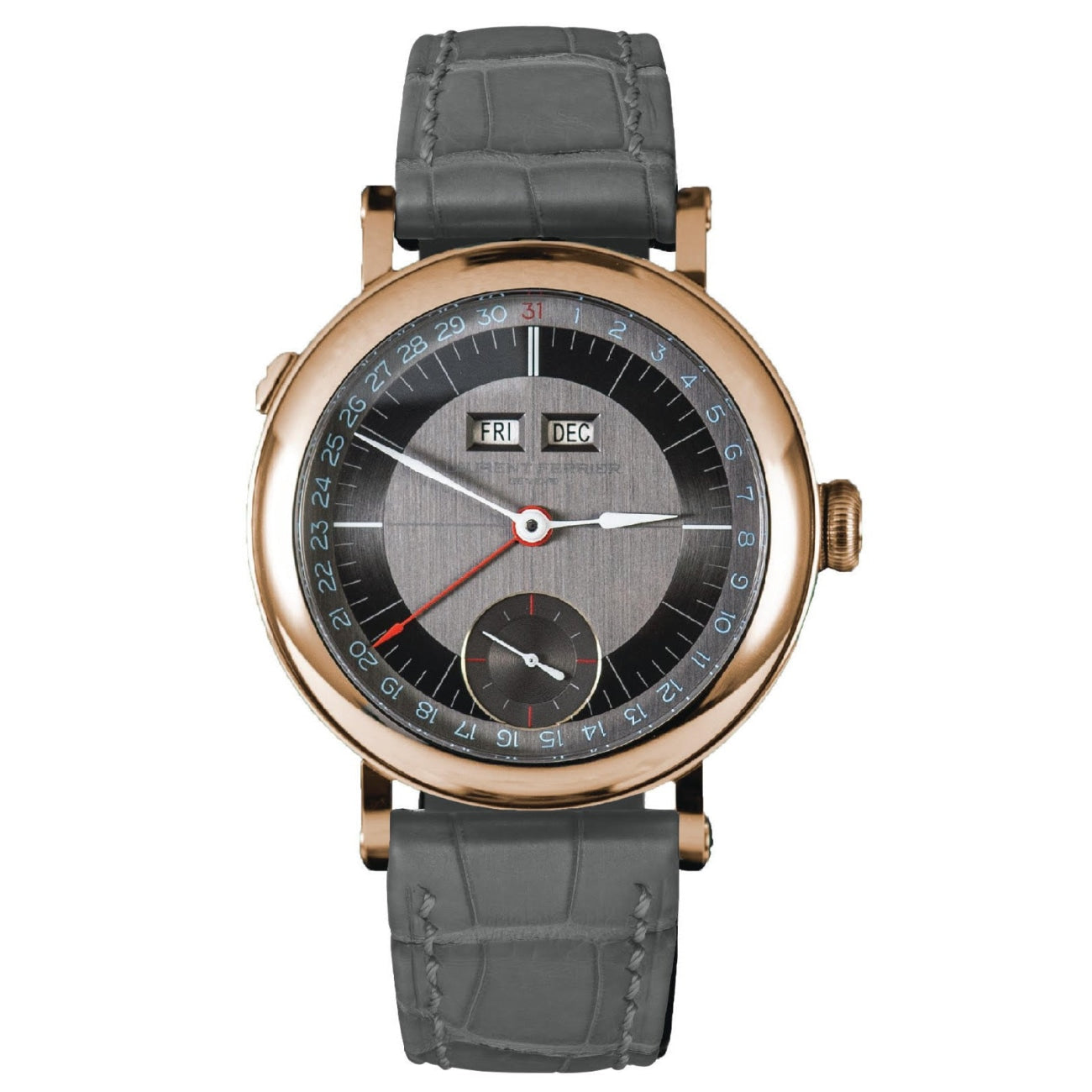Laurent Ferrier Watches - Galet Annual Calendar Montre Ecole | Manfredi Jewels