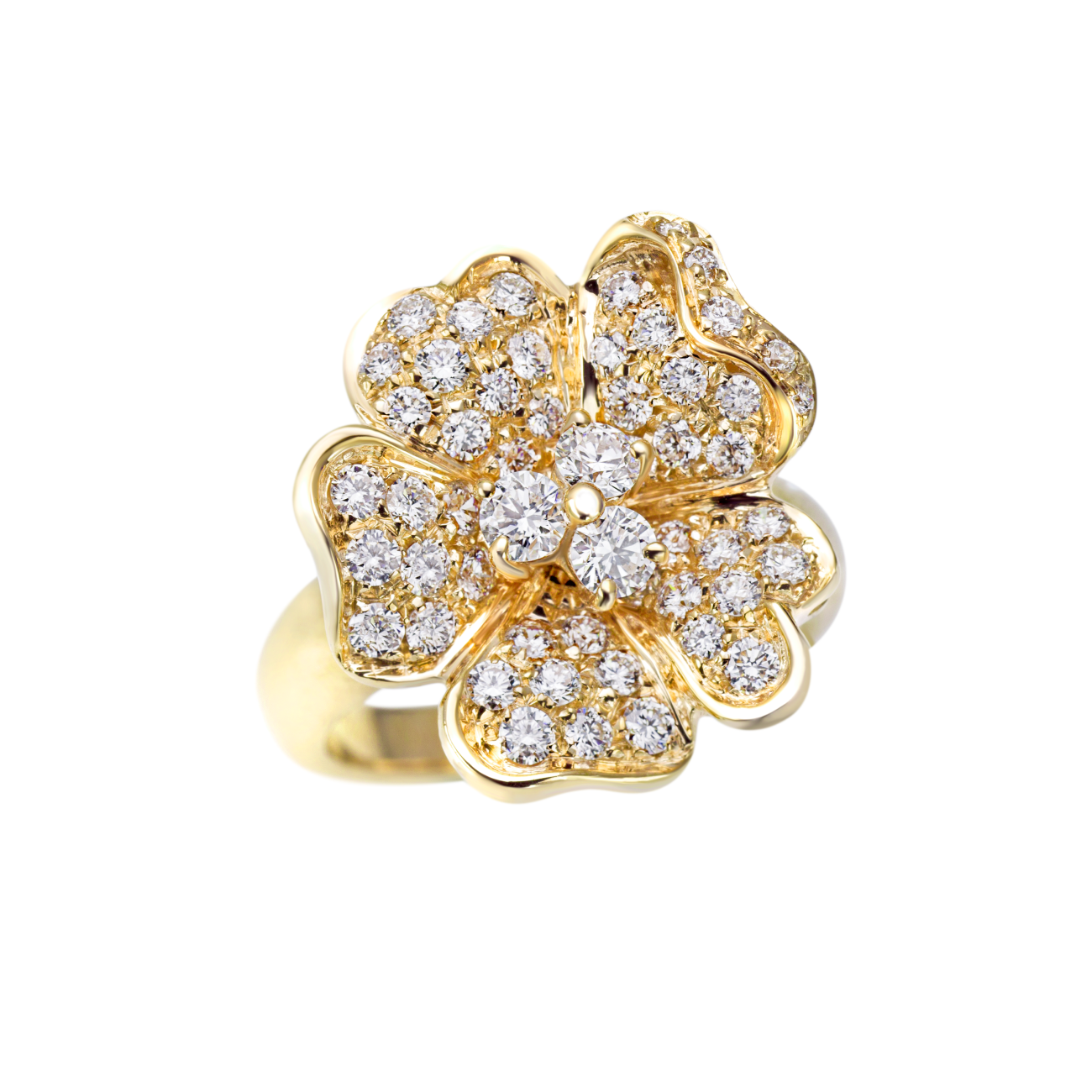 Leo Pizzo Jewelry - Leo Pizzo Flower Ring | Manfredi Jewels