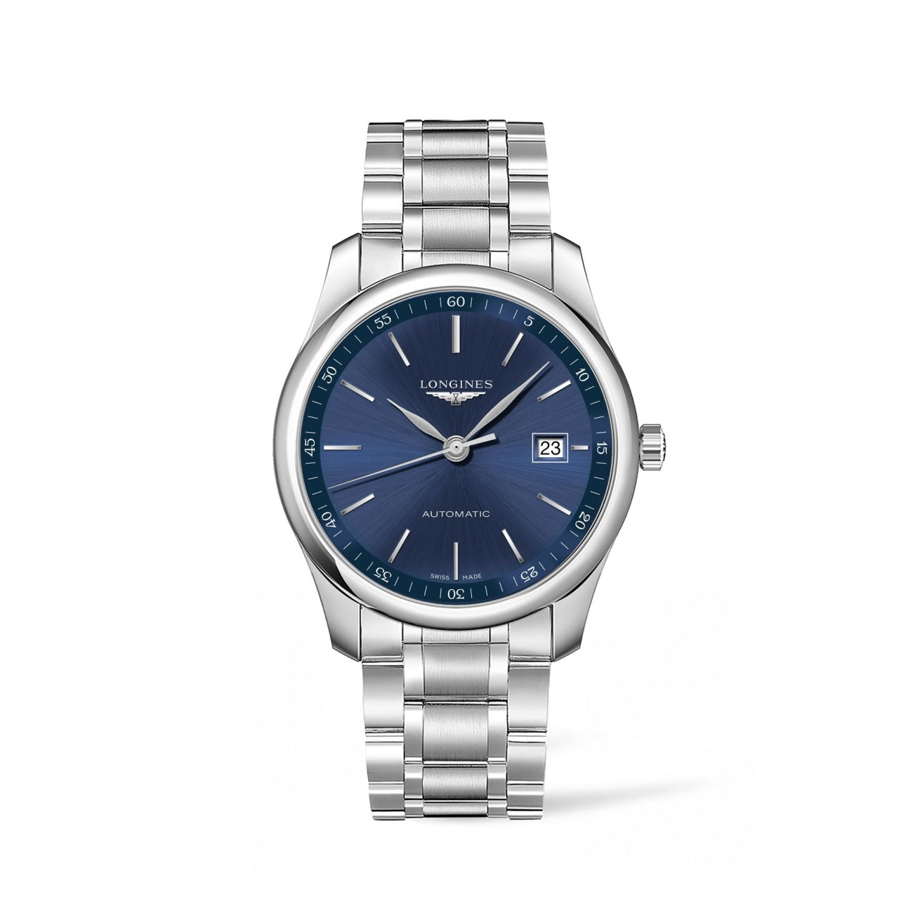 Longines Watches - Master Collection 40Mm Blue Dial Automatic | Manfredi Jewels