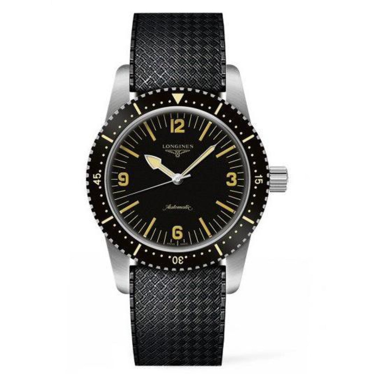 Longines Watches - SKIN DIVER WATCH 42MM STAINLESS STEEL/PVD AUTOMATIC L28224569 | Manfredi Jewels