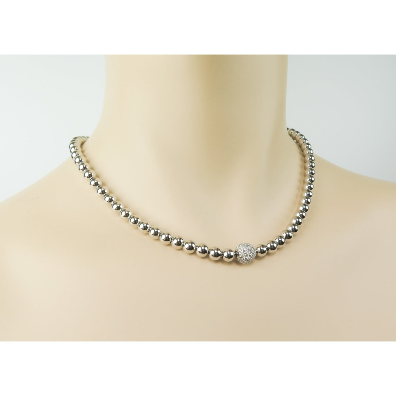 Louis Fiessler Jewelry - 18k White Gold Necklace by Louis Fiessler | Manfredi Jewels