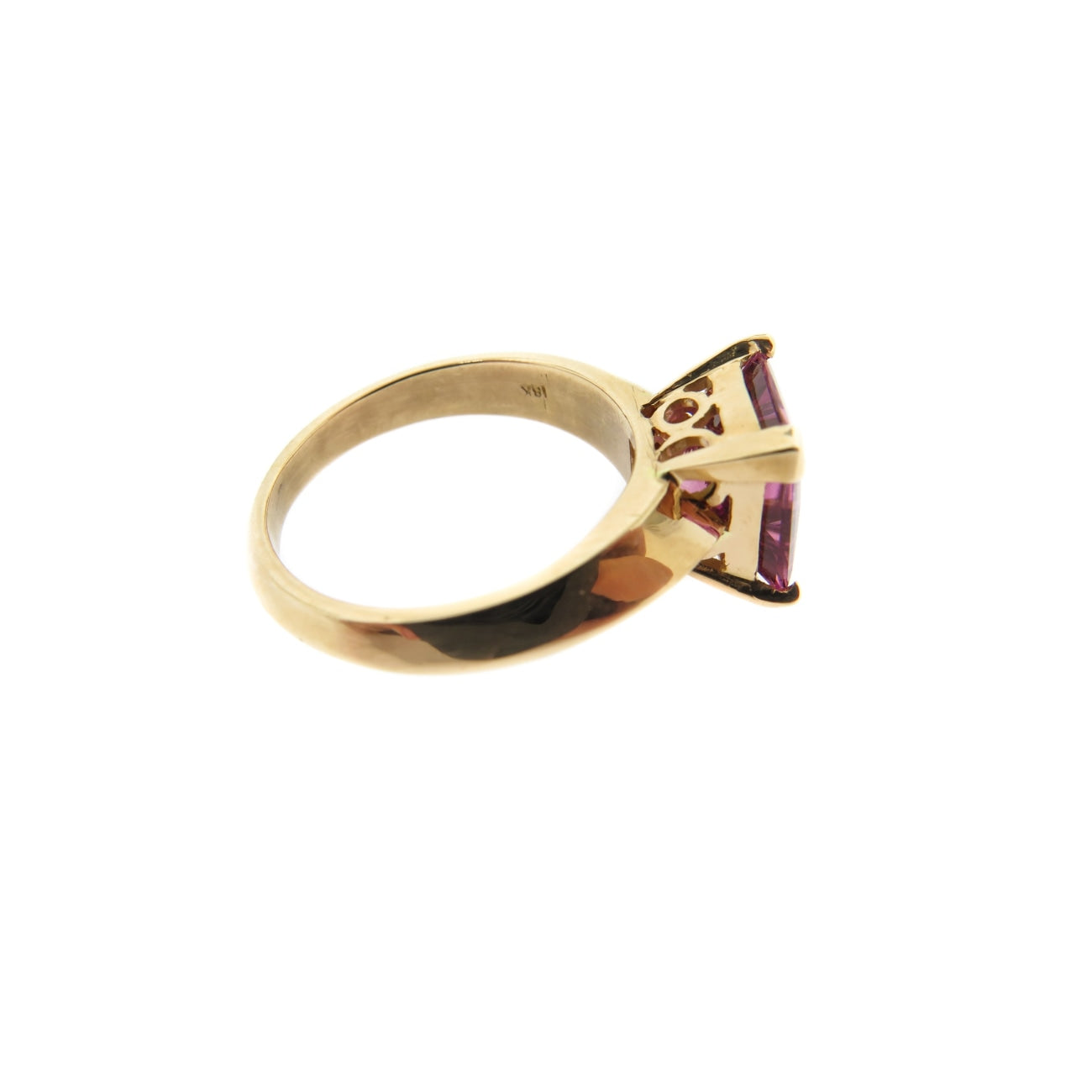 Manfredi Jewels Jewelry - 18k Rose Gold Pink Tourmaline Ring | Manfredi Jewels