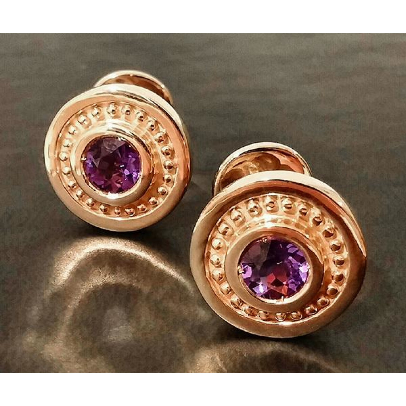 Manfredi Jewels Jewelry - Baz w/ amethyst plated | Manfredi Jewels