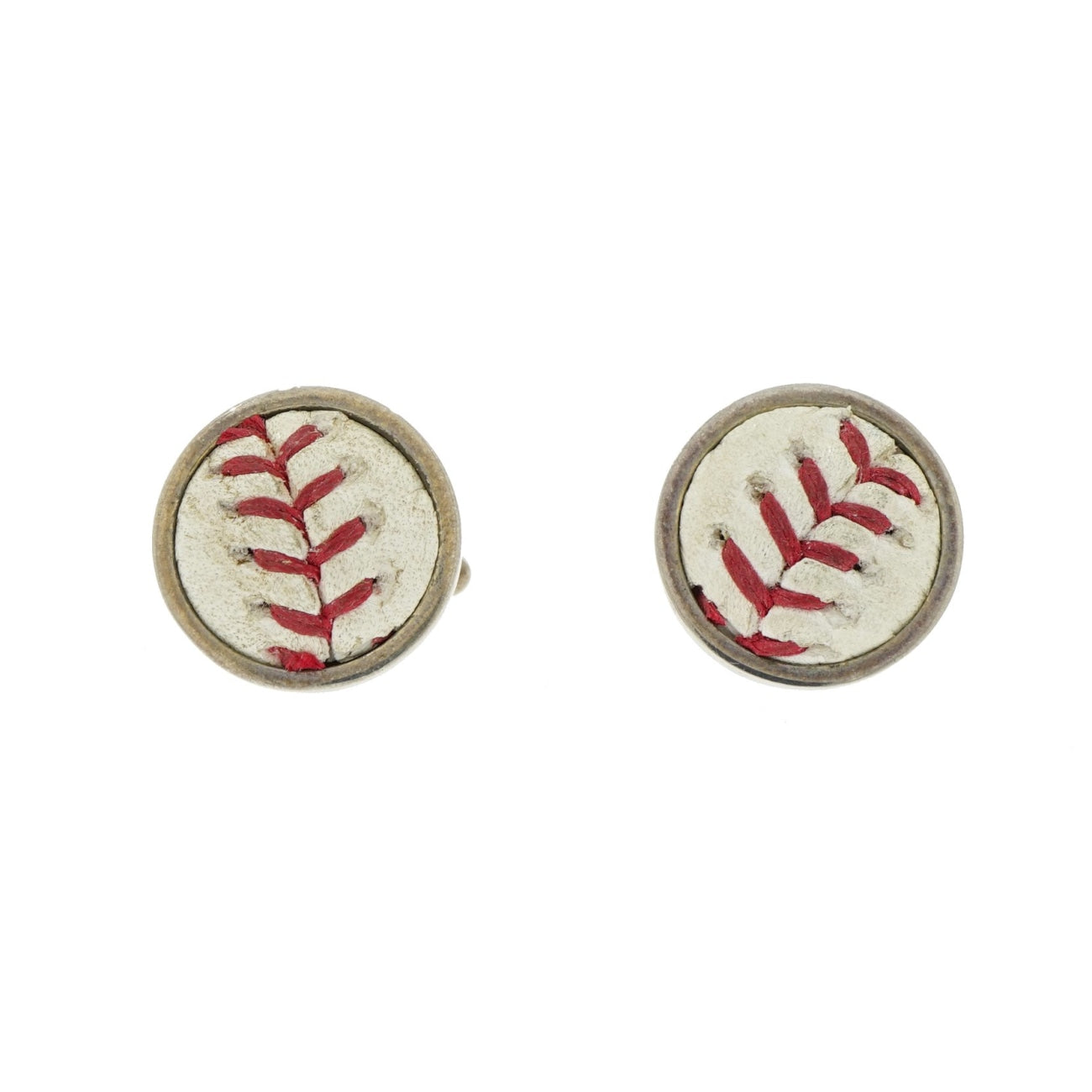 Manfredi Jewels Accessories - Mets Baseball Sterling Silver Cufflinks | Manfredi Jewels