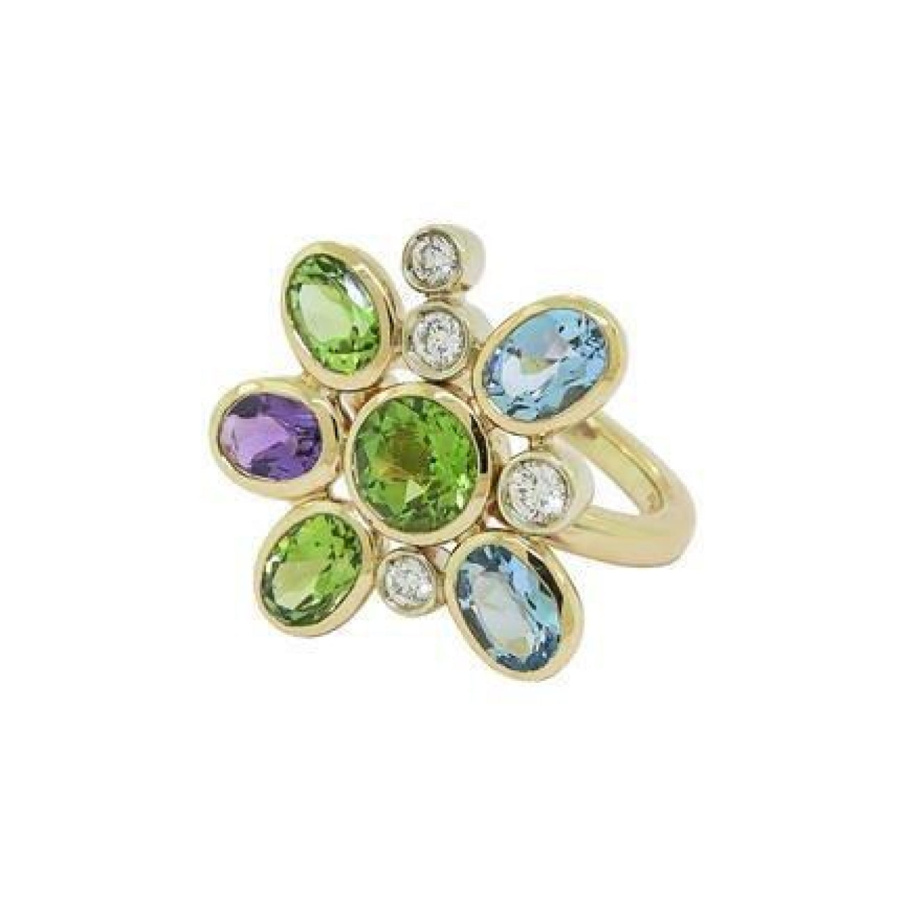 Manfredi Jewels Jewelry - Manfredi of Italy Flower Ring | Manfredi Jewels