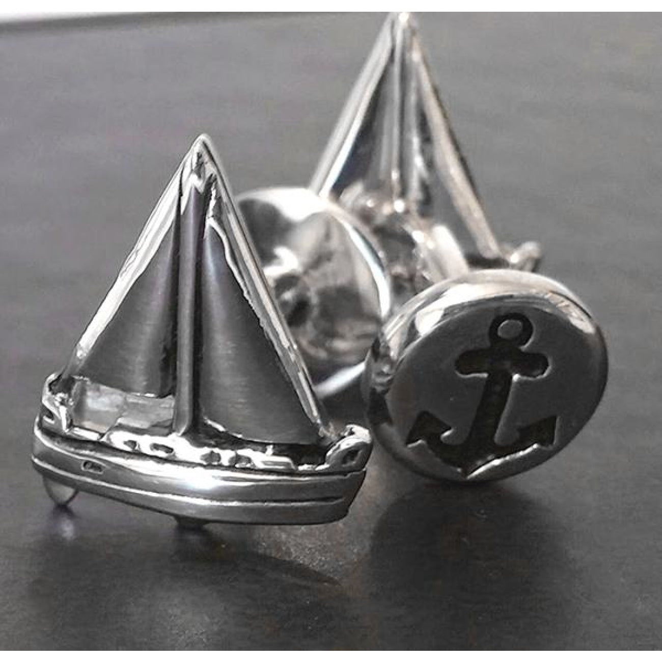 Manfredi Jewels Accessories - Sailboat in Sterling Silver | Manfredi Jewels