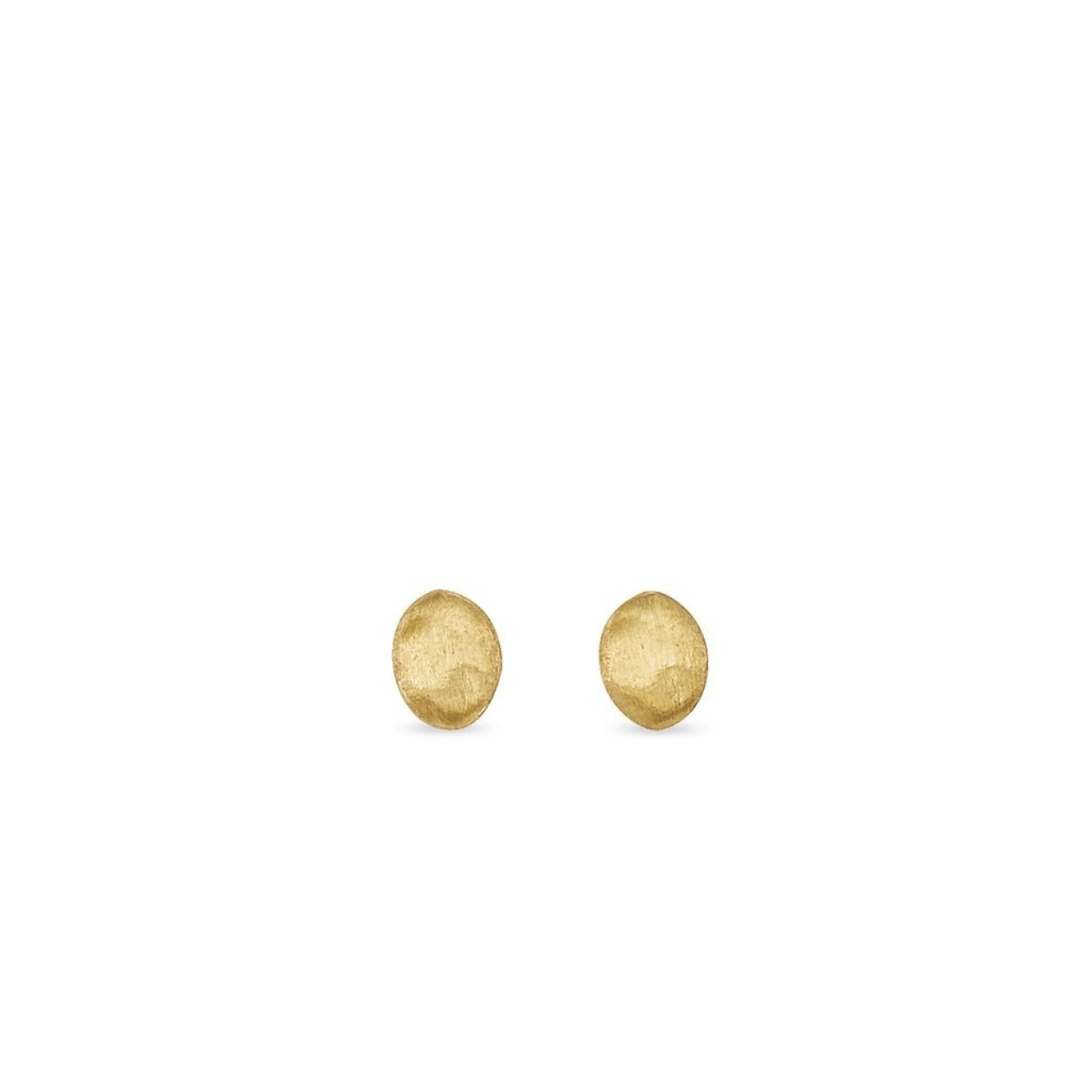 Marco Bicego Jewelry - 18K Yellow Gold Stud Earrings | Manfredi Jewels