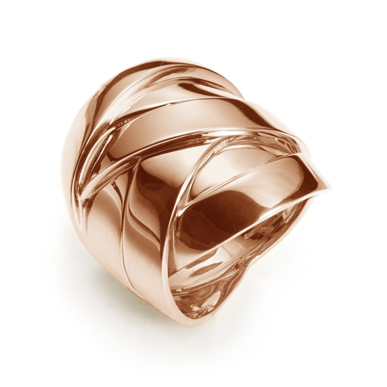 Mattioli Jewelry - Maldamore big ring in rose gold | Manfredi Jewels