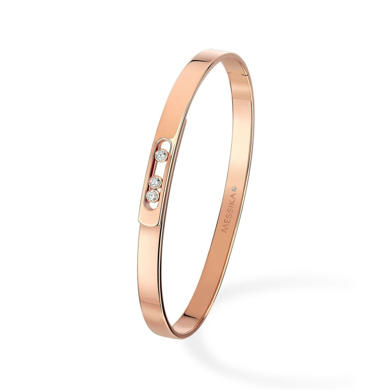 Messika Jewelry - Move Noa Bangle PM BRACELET - ROSE GOLD | Manfredi Jewels