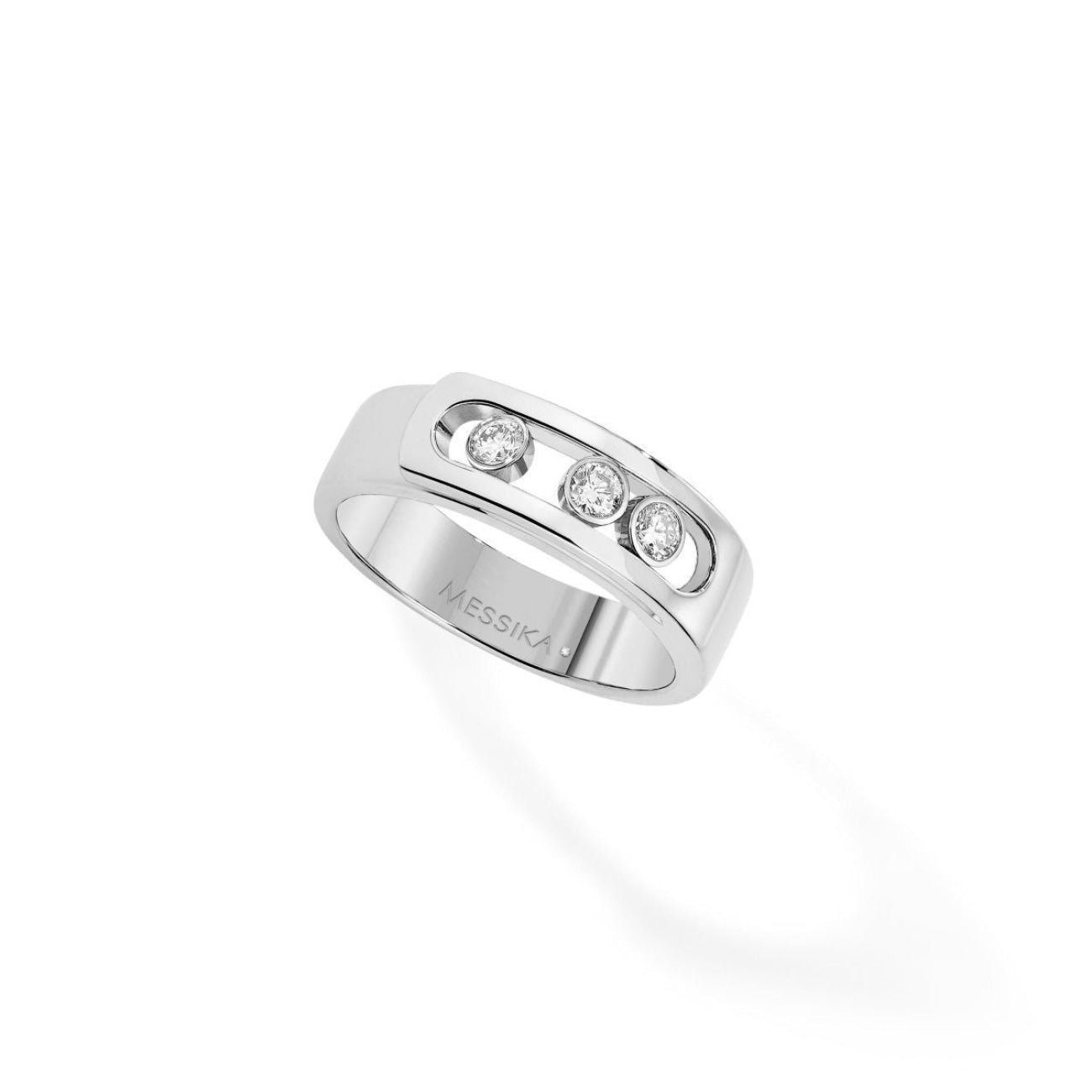 Messika Jewelry - Move Noa RING - WHITE GOLD | Manfredi Jewels
