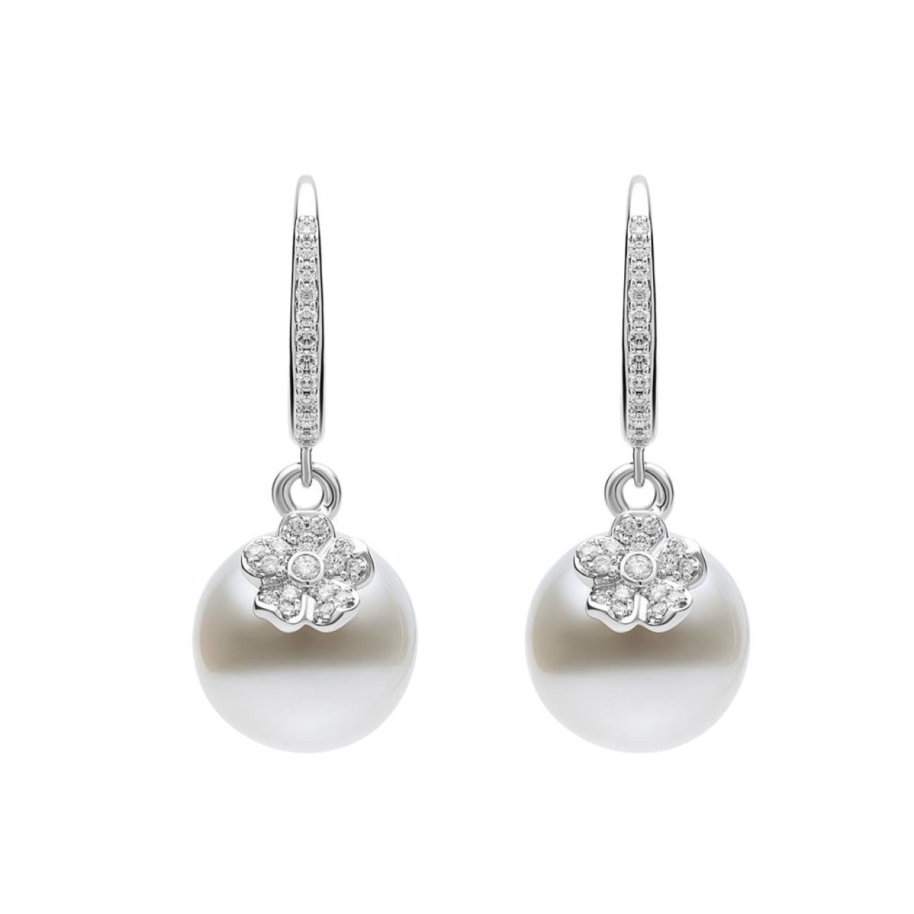 Mikimoto Jewelry - MIKIMOTO Cherry Blossom earrings | Manfredi Jewels